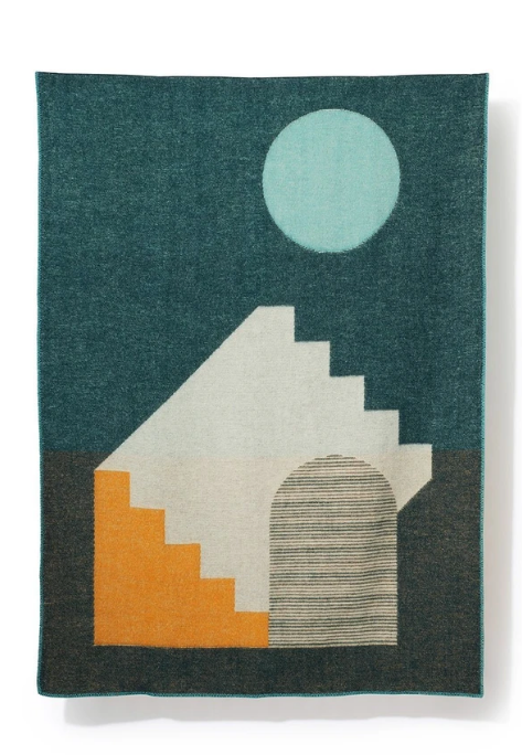 ASPECT Wool Blanket by Yanyi Ha