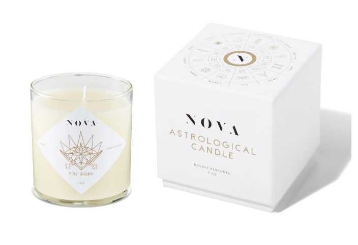 NOVA Astrological Candle – Fire Signs