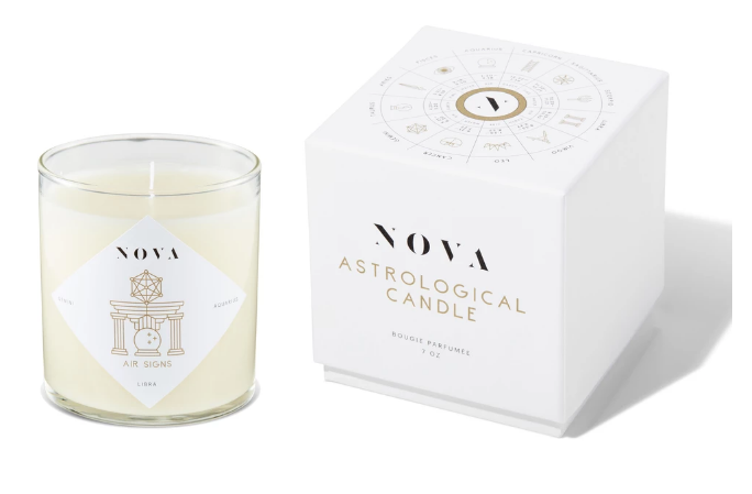 NOVA Astrological Candle - Air Signs
