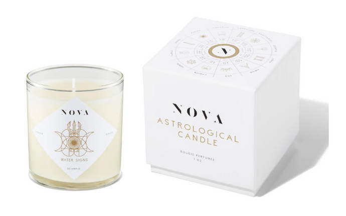 NOVA Astrological Candle – Water Signs