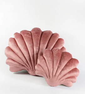 Shell Pillow in Velvet - Small