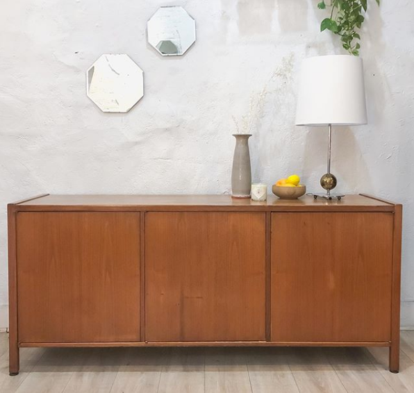 Teak and Walnut John Stuart Credenza