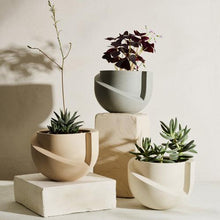 Load image into Gallery viewer, Vayu Stone Tabletop Planter