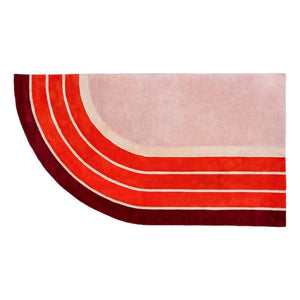 Track Rug by PIECES by an Aesthetic Pursuit