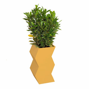 Zig Zag Planter by PIECES by an Aesthetic Pursuit