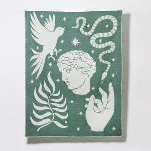 MYTHOS ONE Blanket/Throw by George Greaves