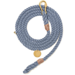 Blue Jean Recycled Rope Leash | Standard