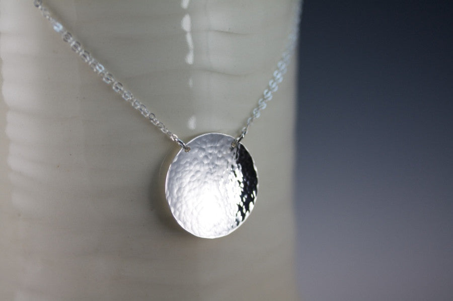 Large Domed Round Necklace