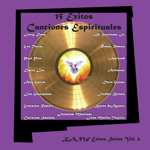 15 Exitos Canciones Espirituales - Exitos Series Vol. 6