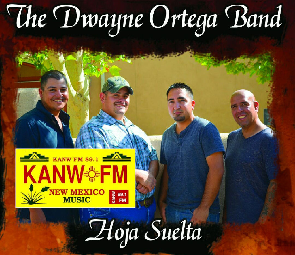 The Dwayne Ortega Band Hoja Suelta