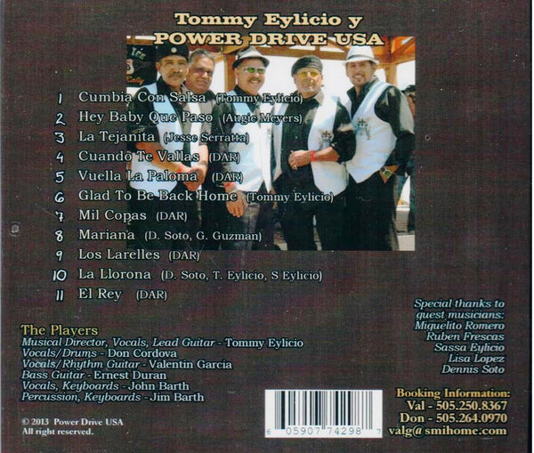 Tommy Eylicio Y Power Drive USA -- La Tejanita