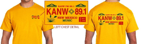 KANW New Mexico Music T-Shirt  -- NEW PRODUCT!!!