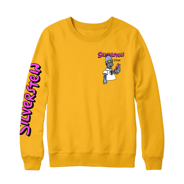 Homer Gold Crewneck Sweatshirt