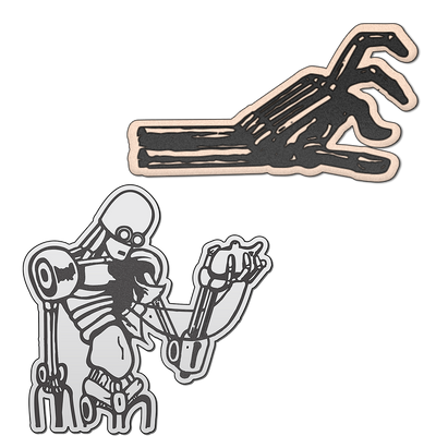 Robot Hand Pin Pack