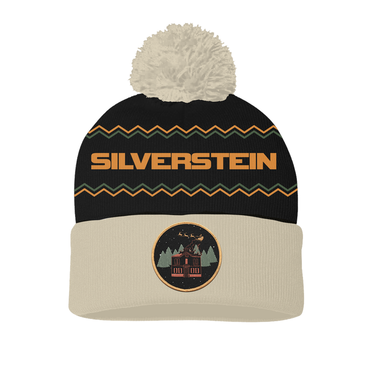 A Shipwreck In The Winter Pom Beanie