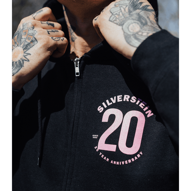20 Year Zip Up Hoodie
