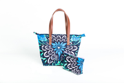 Sac à main - Floral Blue Awaken - BE BOLD BY DIAMANY
