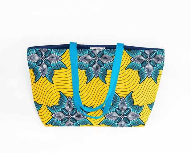 Tote bag réversible - Sourire de joie - BE BOLD BY DIAMANY