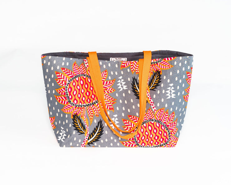 Tote bag réversible - Sourire de rêve - BE BOLD BY DIAMANY