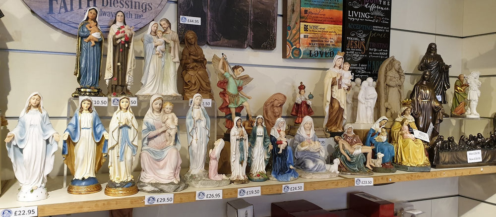 A wide choice of affordable statues and icons