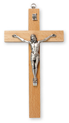 Crucifix – Pear Wood | Crosses & Crucifixes | The Shrine Shop