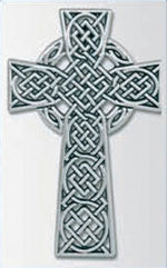 Pewter Celtic Cross | Crosses & Crucifixes | The Shrine Shop