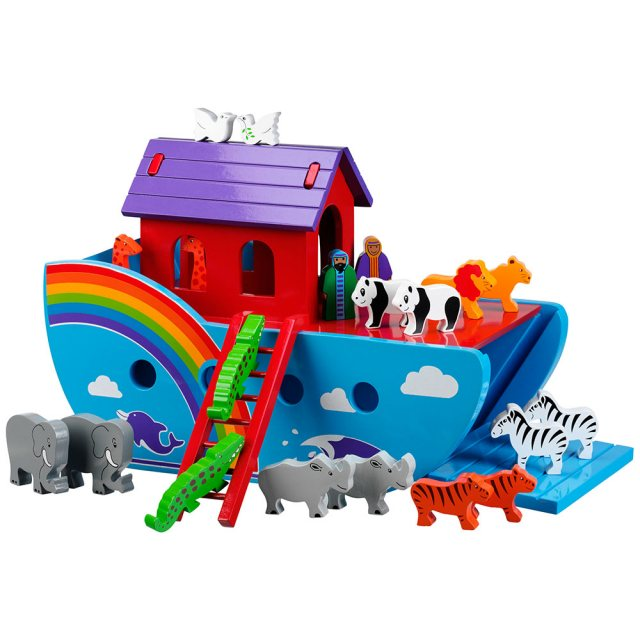 Large Rainbow Noah's Ark