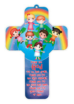 Wood Cross – Thank You God | Childrens & Youth | The Shrine Shop