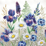 Small Napkins – Mixed Meadow Flowers | Gifts | The Shrine Shop