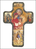 Holy Family Cross Icon
