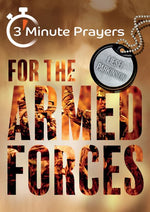 3 Minute Prayers for the Armed Forces