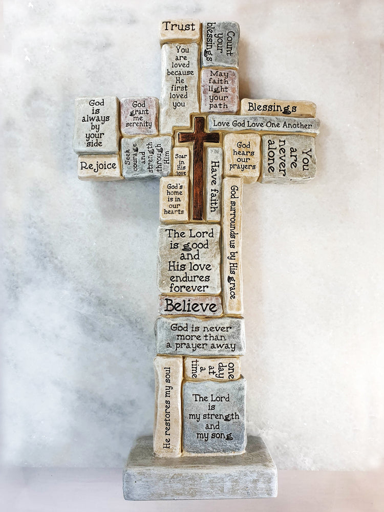 Quotation Cross | Crosses & Crucifixes | The Shrine Shop