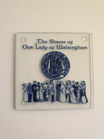 The Shrine of Our Lady of Walsingham Coaster – Glass