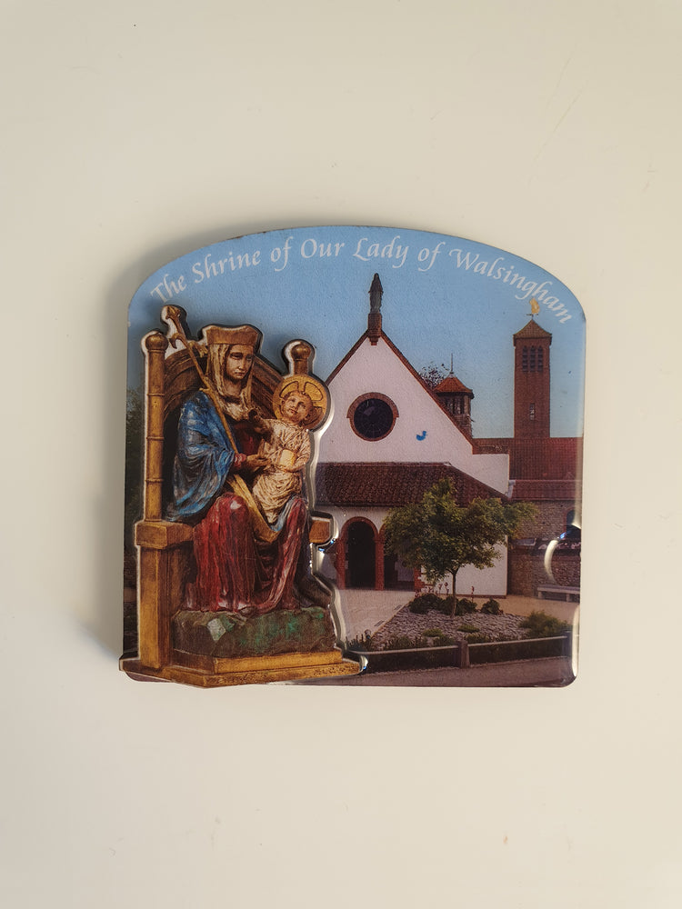 Our Lady of Walsingham Fridge Magnet - The Shrine Shop