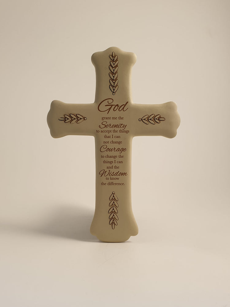 Serenity Wall Cross