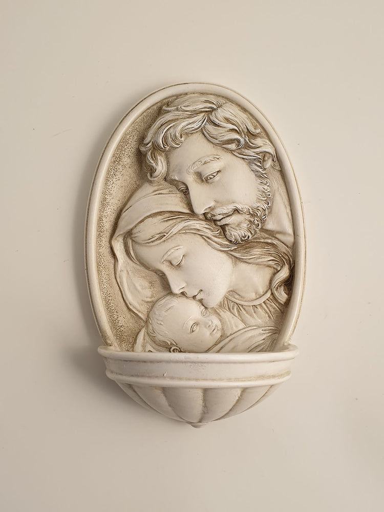 Holy Family Water Font | Statues & Icons | The Shrine Shop