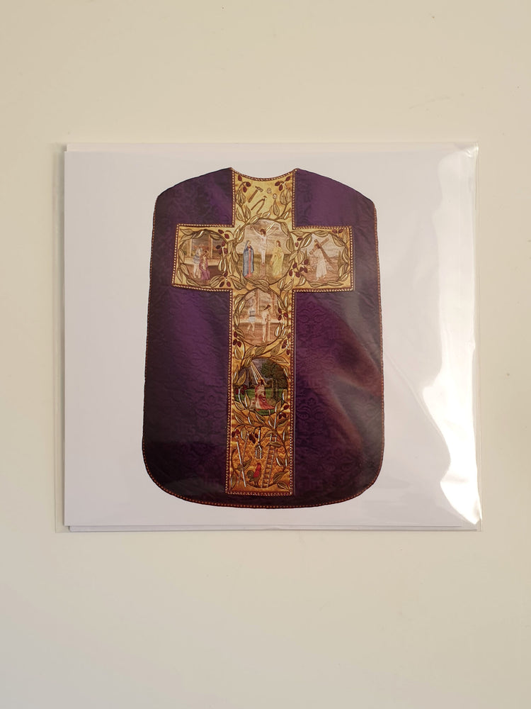 Ecclesiastical Card - Vestments from Walsingham