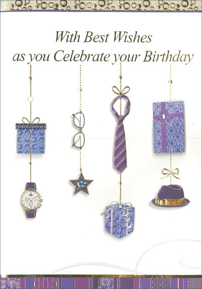 Card – Best Wishes As You Celebrate Your Birthday