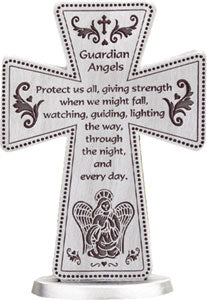 Standing Cross – Guardian Angel | Crosses & Crucifixes | The Shrine Shop