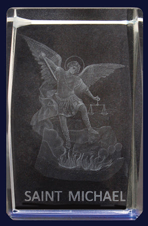Glass Block – St Michael