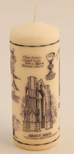 Our Lady of Walsingham Pillar Candle