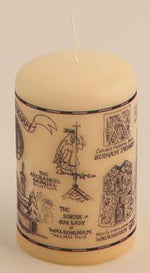 Our Lady of Walsingham Mini Candle - The Shrine Shop