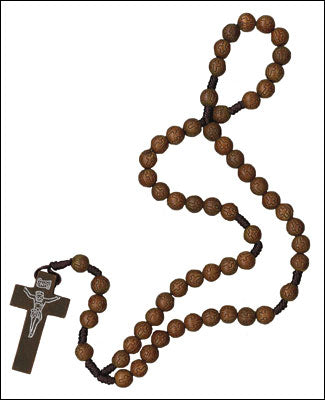Rosary With Cross Beads