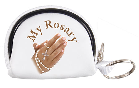 Rosary Purse with Praying Hands | Rosaries & Prayer Cards | The Shrine Shop