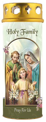 Holy Family Windproof Candle