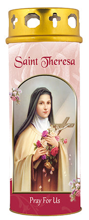 Saint Theresa Windproof Candle