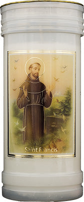 Saint Francis Candle | Gifts | The Shrine Shop