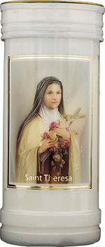 Saint Theresa Candle