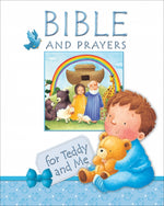 Bible Prayers for Teddy and Me – Blue