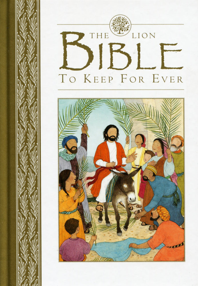 The Lion Bible to Keep Forever